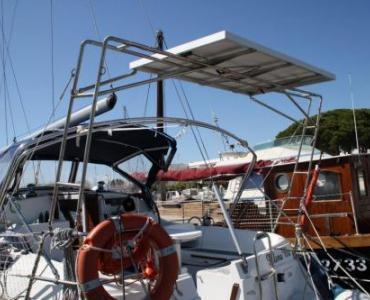 Accastillage inox 316L sur mesure pour panneaux solaires